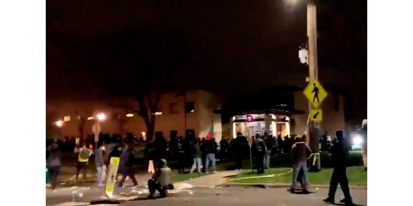 Гибель чернокожего водителя от рук полицейского в Миннесоте стала поводом для новых акций протеста