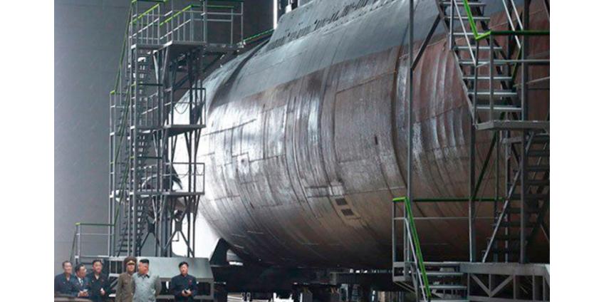 США и Южная Корея обнаружили у КНДР новую подлодку, предназначенную для пуска баллистических ракет