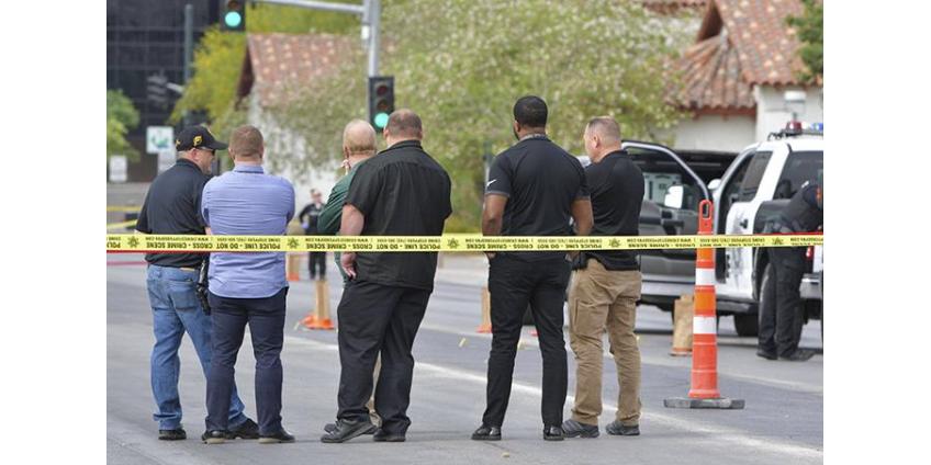Стрельба в Лас-Вегасе: один человек погиб, двое ранены