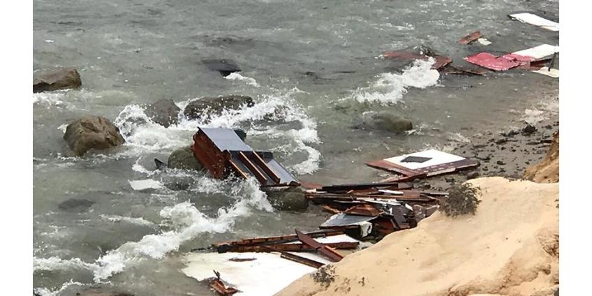 Затонувшее у берегов Сан-Диего судно перевозило нелегалов