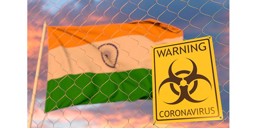 В Индии за сутки зафиксировано максимальное число смертей из-за коронавируса