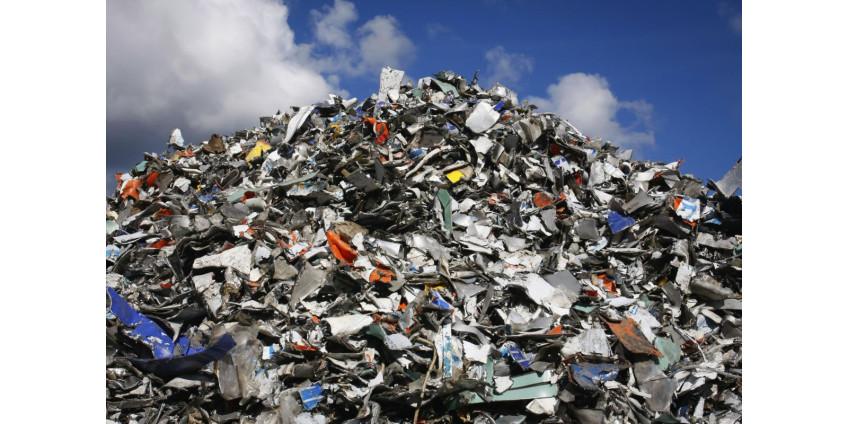 Из Эхо-Парка вывезли 35,7 тонны твердых отходов