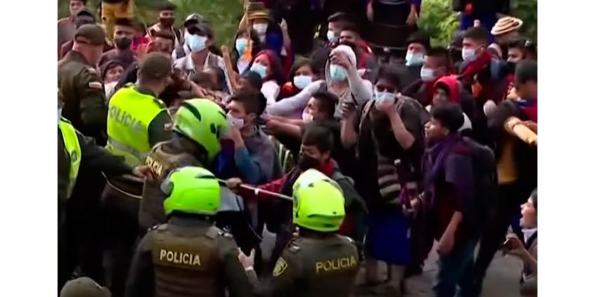 В Колумбии за неделю протестов пропали почти 400 человек, говорят правозащитники