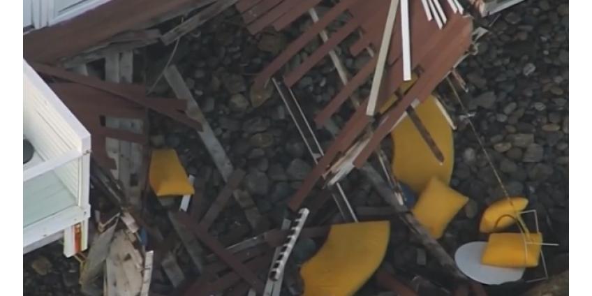 В Малибу произошло обрушение балкона: много раненых, в том числе в критическом состоянии