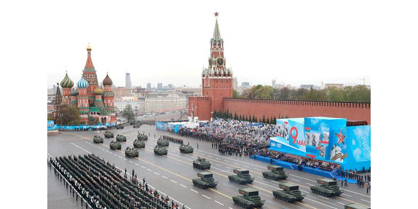 В Москве прошел Парад Победы в честь 9 мая