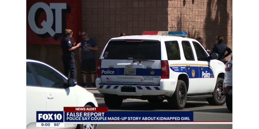 История похищения в Финиксе была «сфабрикована» для более быстрого реагирования полиции