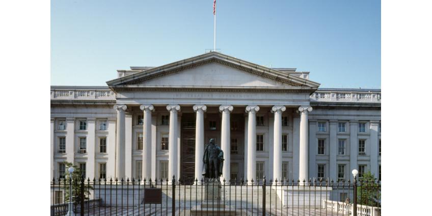 """Минфин США ввел """"обновленные"""" санкции против судов, связанных с """"Северным потоком - 2"""""""