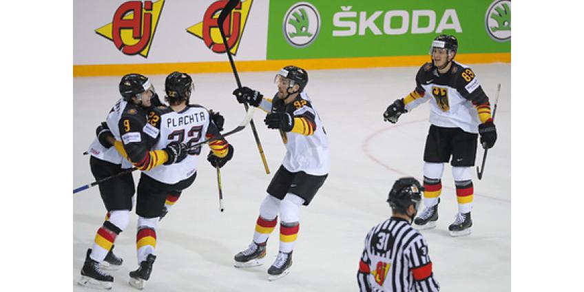 Определились первые полуфиналисты чемпионата мира по хоккею