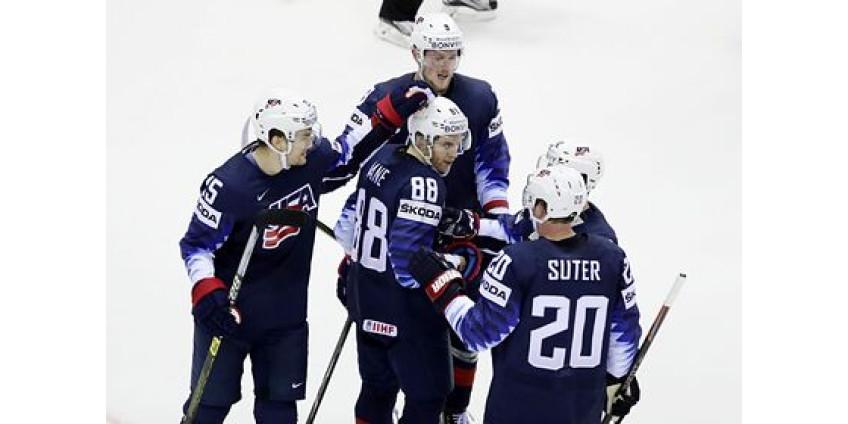 Сборная США завоевала бронзу чемпионата мира по хоккею