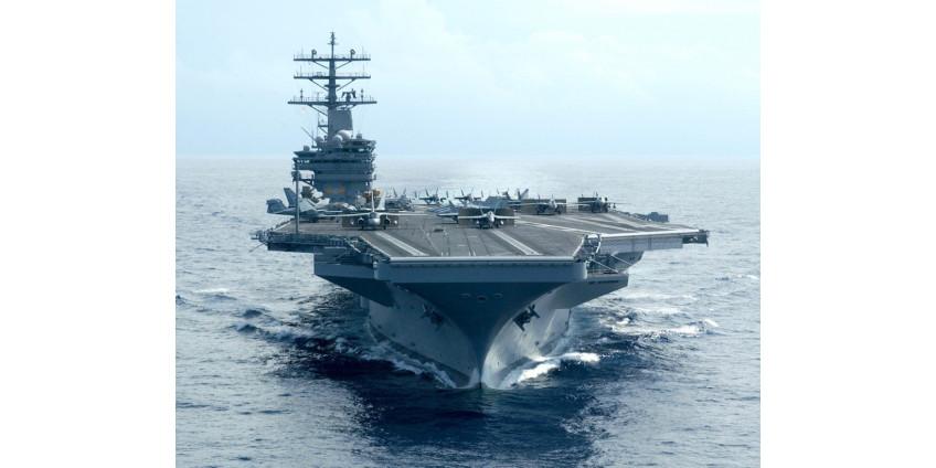 Авианосец США «Рональд Рейган» вошел в Южно-Китайское море
