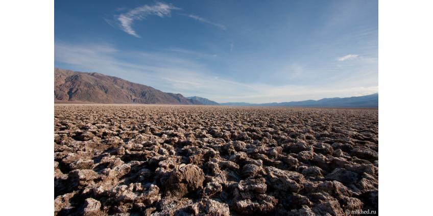 В Долине Смерти из-за жары увеличилось количество посетителей