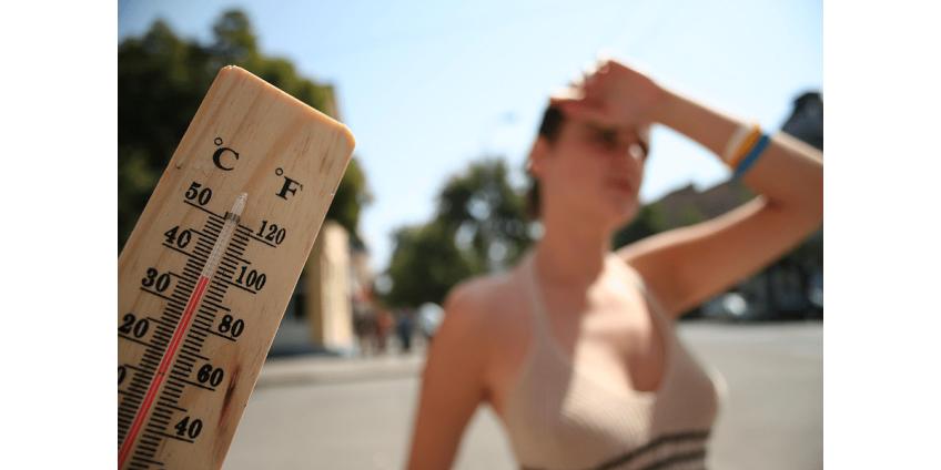Температура в Москве побила очередной рекорд