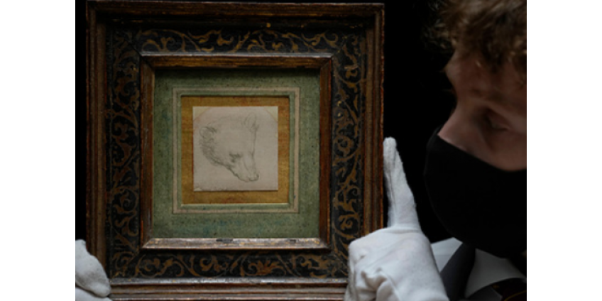 Карандашный набросок Леонардо да Винчи ушел с молотка за рекордную сумму