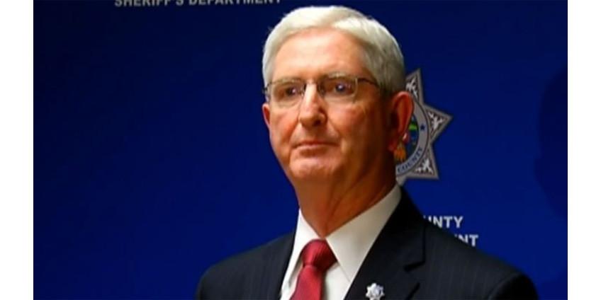 Шериф округа Сан-Диего Билл Гор объявил, что не будет баллотироваться на 4-й срок