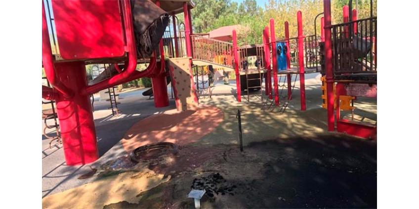 Двое подростков арестованы по подозрению в поджоге в парке в Хендерсоне