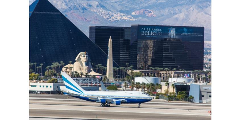 На рейсах в Лас-Вегас и из него зафиксированы одни из самых неуправляемых пассажиров