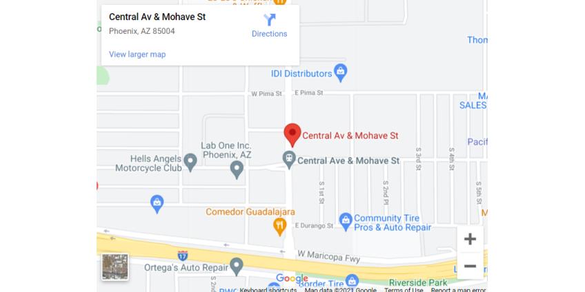 Полиция расследует дело об убийстве мужчины недалеко от центра Финикса