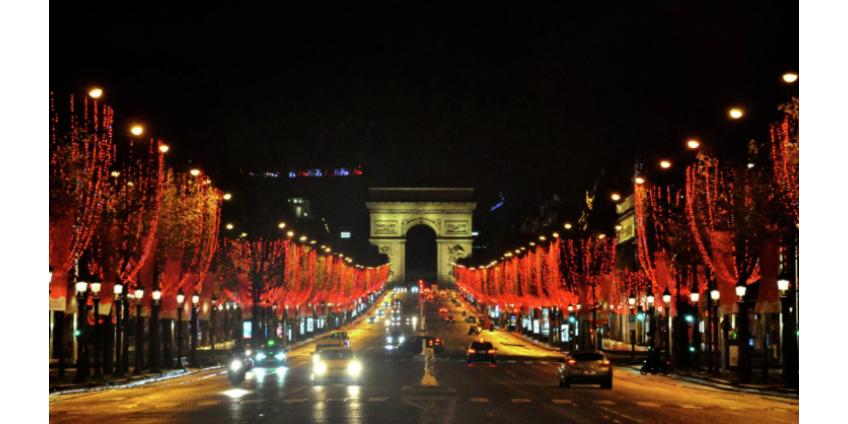 В Париже ограничили скорость движения машин до 30 километров в час