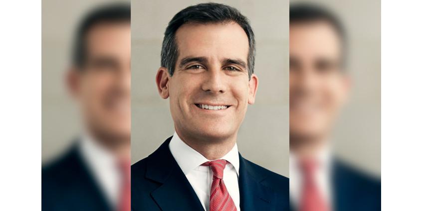 Мэр Лос-Анджелеса Эрик Гарсетти объявляет о трех новых сотрудниках высшего руководства