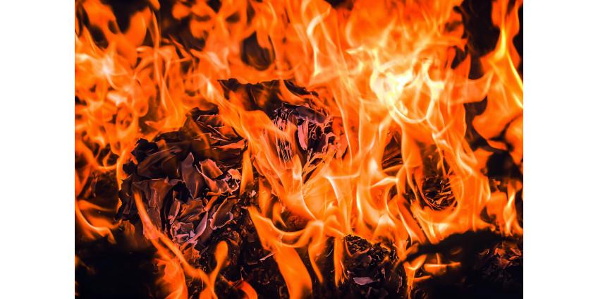 2 ребенка пострадали при пожаре в гараже Серра-Меса
