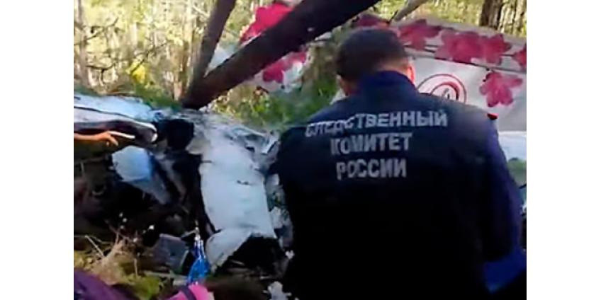 Названы слабые места рухнувшего в Иркутской области L-410