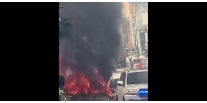 В столице Сомали произошел мощный взрыв