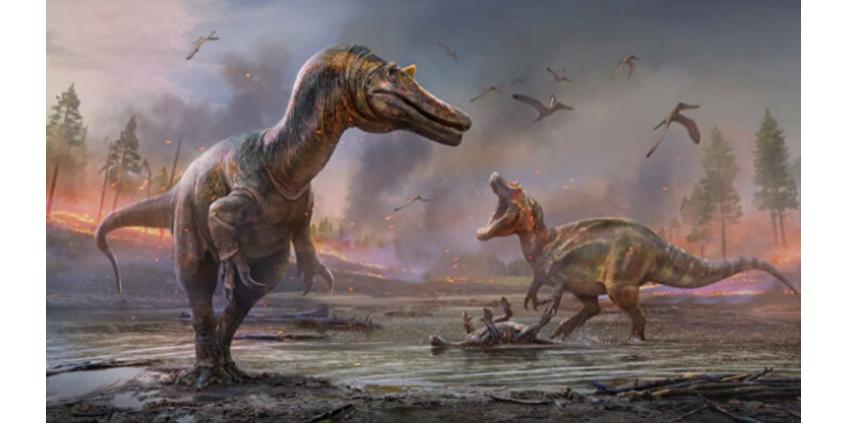 Ученые открыли два вида крупных динозавров, похожих на крокодилов