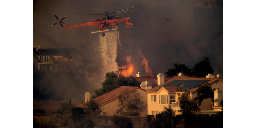 В Лос-Анджелесе снова пожары, есть жертвы