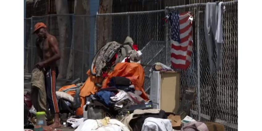 В Калифорнии сейчас 151,278 бездомных
