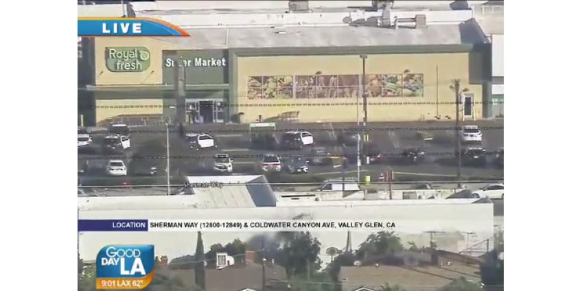 Стрельба в продуктовом магазине в Северном Голливуде