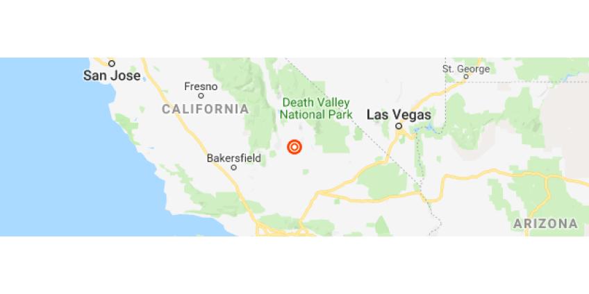 В ЮжнойКалифорнии произошло землетрясение магнитудой 7.1